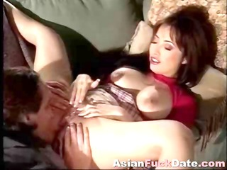 hot juvenile oriental gal receives licked and