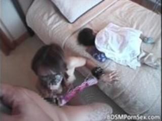 brunette hair oriental mom can slavery