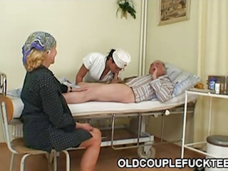 grand-dad fucks sexy excited nurse
