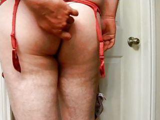 Mi modeling my friend wife panties