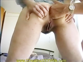 older wife anal fisting and squirting