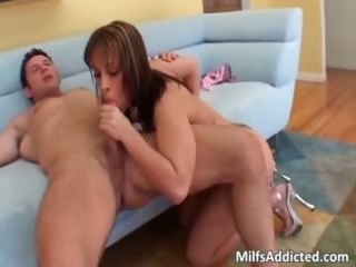 freshly married milf is addicted