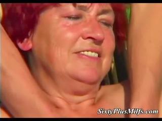 corpulent granny engulfing new shlong