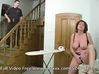 Redhead mature ass and pussy fucked