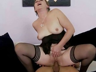 hawt granny gets fucked hard by juvenile stud