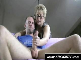 blond mother i give this dude with a large cock