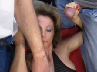 aged sweetheart takes many cumshots