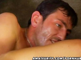 dilettante wife anal and oral with facial spunk