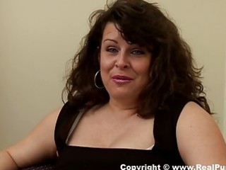 hungry bulky mamma craves three-some dick