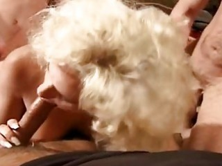 blonde wife team fuck
