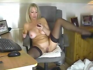 golden-haired mother id like to fuck in nylons