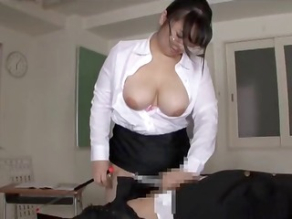big wazoo breasty japanese teacher anguish part 7