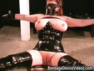 kinky milf receives bound and cunt inspected part5