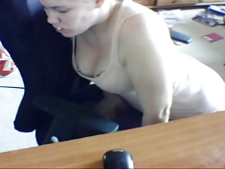 Hidden cam wife humping chair and self tape pussy
