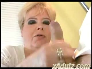 corpulent big beautiful woman granny fucks her