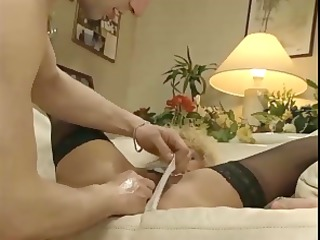 golden-haired colette sigma receives licked and