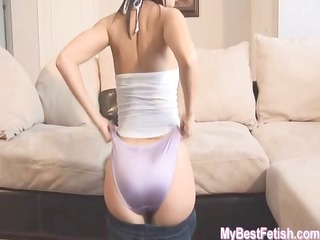 spandex and panty ass