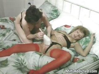 mature harlots having lesbo sex part6