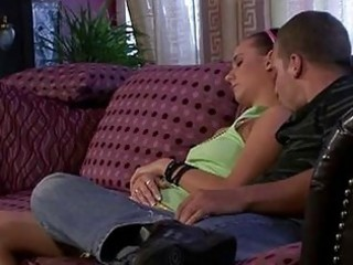 lascivious mommy licks sleeping girlfri...