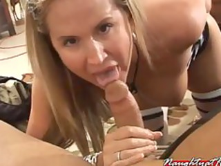 desirae spencer goes down under sucking and