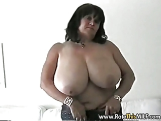 super busty non-professional mother i in nylons