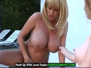 scorching lesbo milfs masturbating so competent