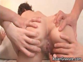 slutty asian milf gets facial after part6