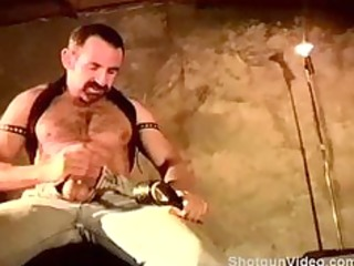 self cbt session by shaggy muscular man.