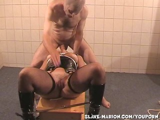 slave wife marion dominated by lads