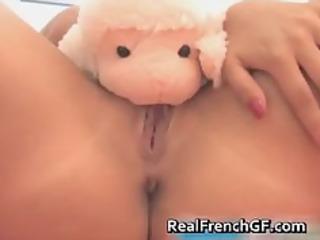 amazing blonde masturbating her valuable part3