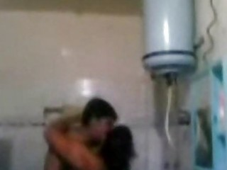Indian mature couple fucking very hard in bathroom