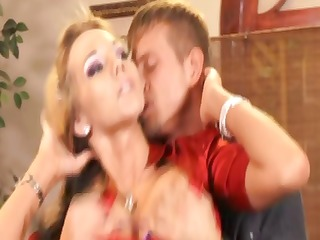 breasty wedding planner gets licked and hammered