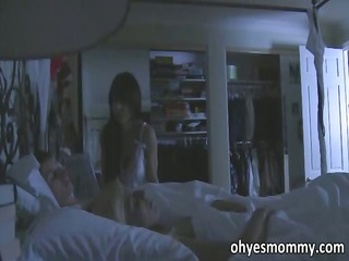 breasty stepmom is full on seducing her