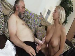 mature blond mandy dee bounces her big billibongs