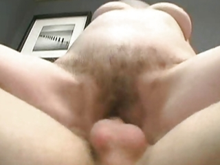 unshaved granny receives a facial