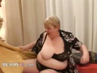 banging a bulky old hirsute granny