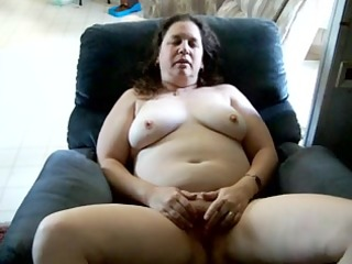 mary the mail girl cums finger fucking her