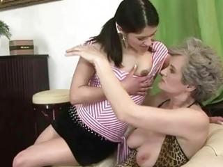 breasty granny fucks juvenile girl