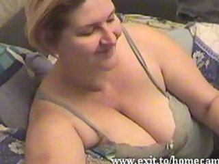 emily 810 years with big wobblers plays at home
