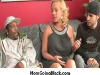 Interracial porn horny mom fucked by black