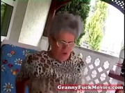 young guy fucking old chunky granny