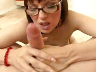 breasty mother i with glasses becomes a oral job