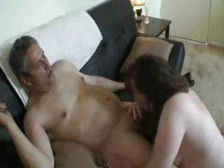 fat mamma eats the pounder and bangs stranger for
