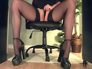 secretary rubbing under the desk compilaton