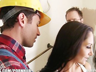 lewd brunette wife ava addams fucks her home