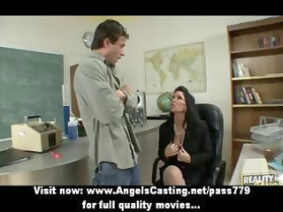 badass milf does oral-job and titsjob for student