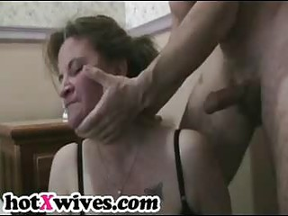 concupiscent ex wife gets rough face hole fuck