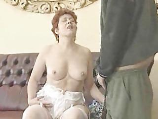 granny in white nylons bonks