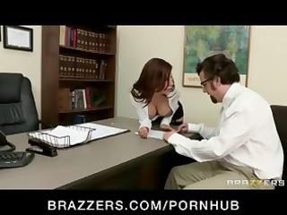 dark brown latin babe boss chick copulates one of