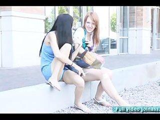 tamara and lacie models do smoke humorous pont of